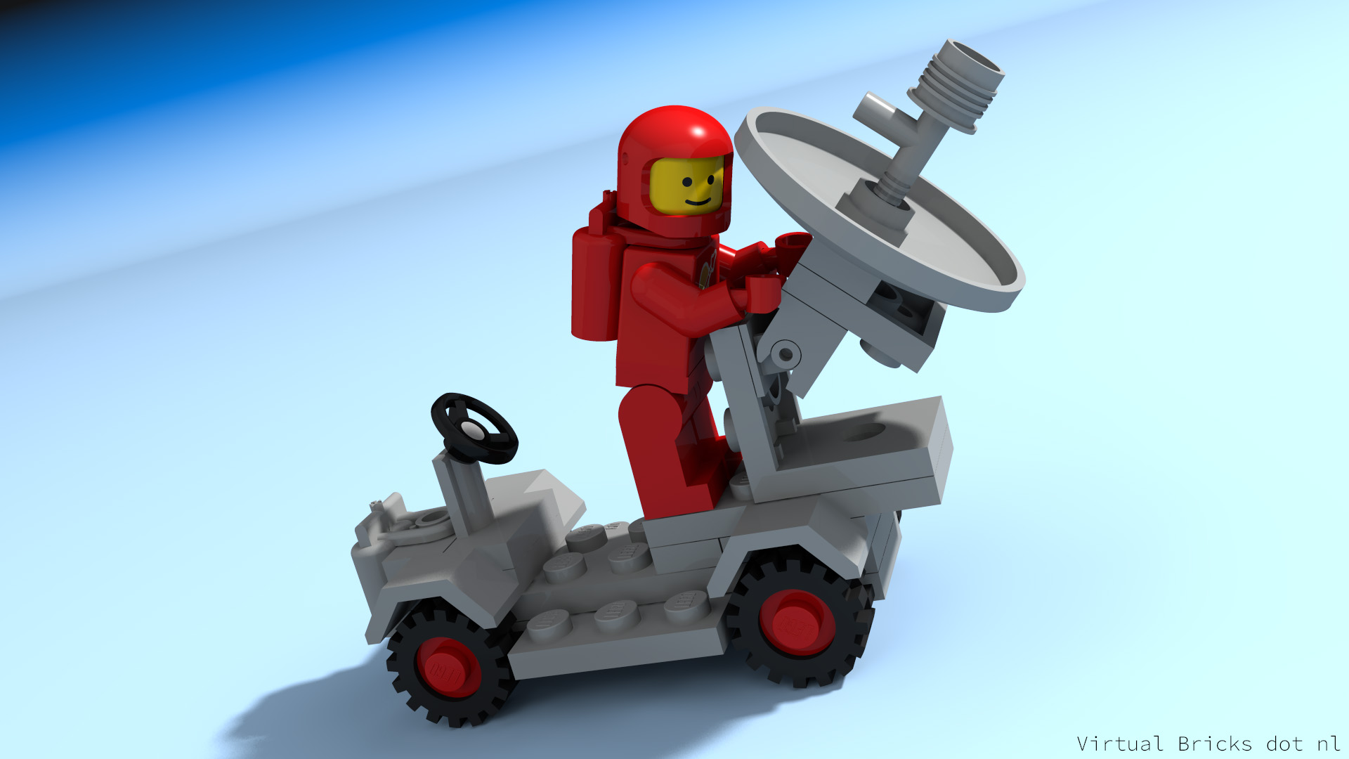 One of the first LEGO Classic Space models